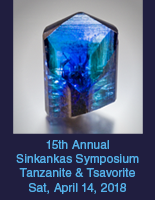 15th Annual Sinkankas Symposium 4/14/18