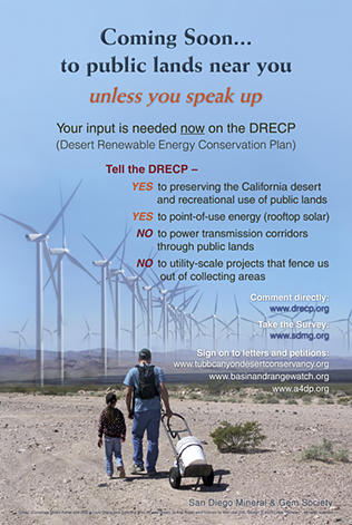 DRECP bifold brochure - Coming Soon to your public lands